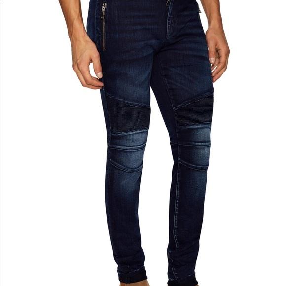 c3d78bbc Balmain Jeans | Nwot 100 Authentic Men Biker Sz35 | Poshmark